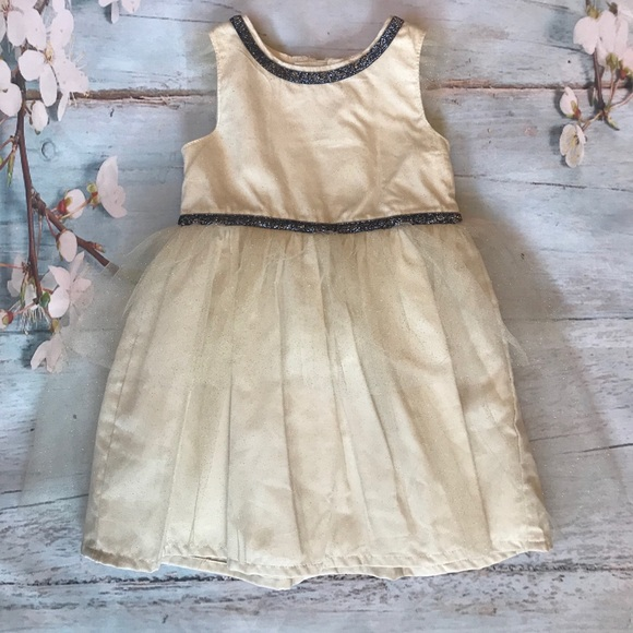 Carter's Other - Carter's Ivory holiday dress
